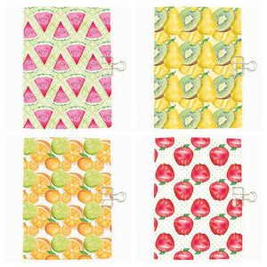 Set of 4 Fruits Traveler's Notebook Insert - All Sizes and Patterns C123/124/125/126