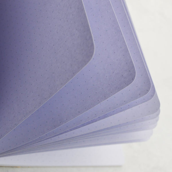 """I Lilac It"" Purple Rainbow Traveler's Notebook Insert - All Sizes, Plain or Dot Grid"