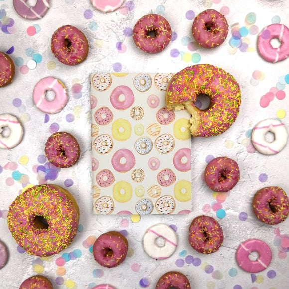 Mixed Donuts Cover Traveler's Notebook Insert - All Sizes and Patterns C078