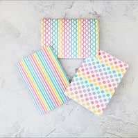 Rainbow Stripes Cover Traveler's Notebook Insert - All Sizes and Patterns C045
