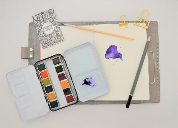 220gsm Watercolour Paper Traveler's Notebook Insert