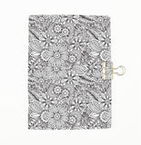 Colour Me Flowers Cover Traveler's Notebook Insert - All Sizes and Patterns  C067