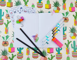 Planner Addict Pencils Cover Traveler's Notebook Insert - All Sizes and Patterns C110
