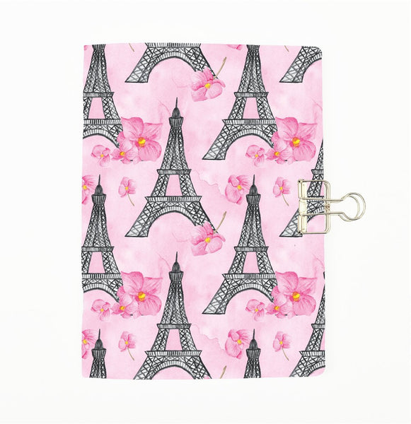 Paris Fashion Eiffel Pink Cover Traveler's Notebook Insert - All Sizes and Patterns C118