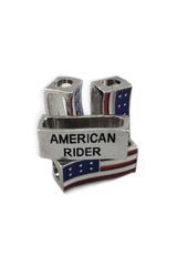 American Rider (Metal) Biker Whip Ornament Pack
