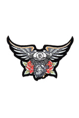 Angel Wings with V-Twin Patch