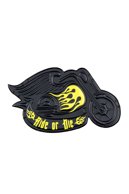 Ride or Die Leather Patch