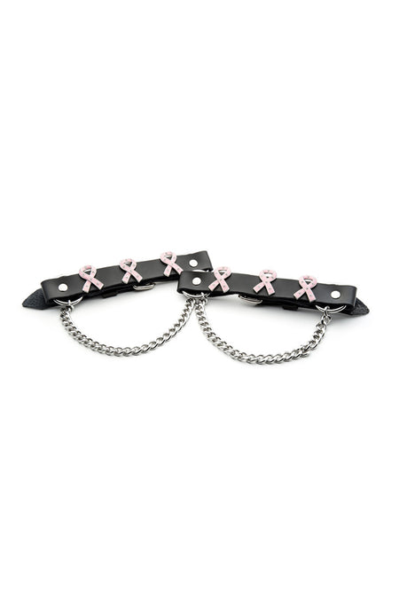 Cancer Awareness Boot Bracelet set