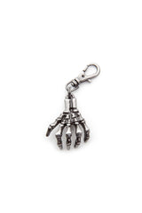 - Jacket Zipper Pull - Skeletal Hand Zipper Pull - 1