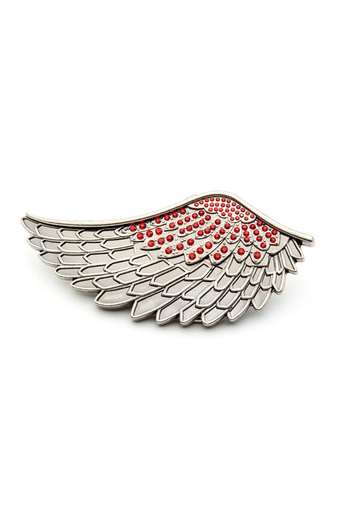 - Belt Buckle - Angel Wing Belt Buckle - 1