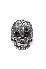 - Stainless Steel Ring - Sugar Skull Ring - 2