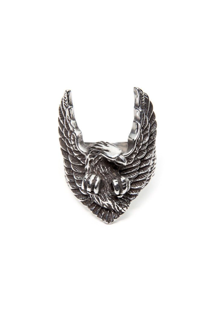 - Stainless Steel Ring - American Eagle Ring - 2