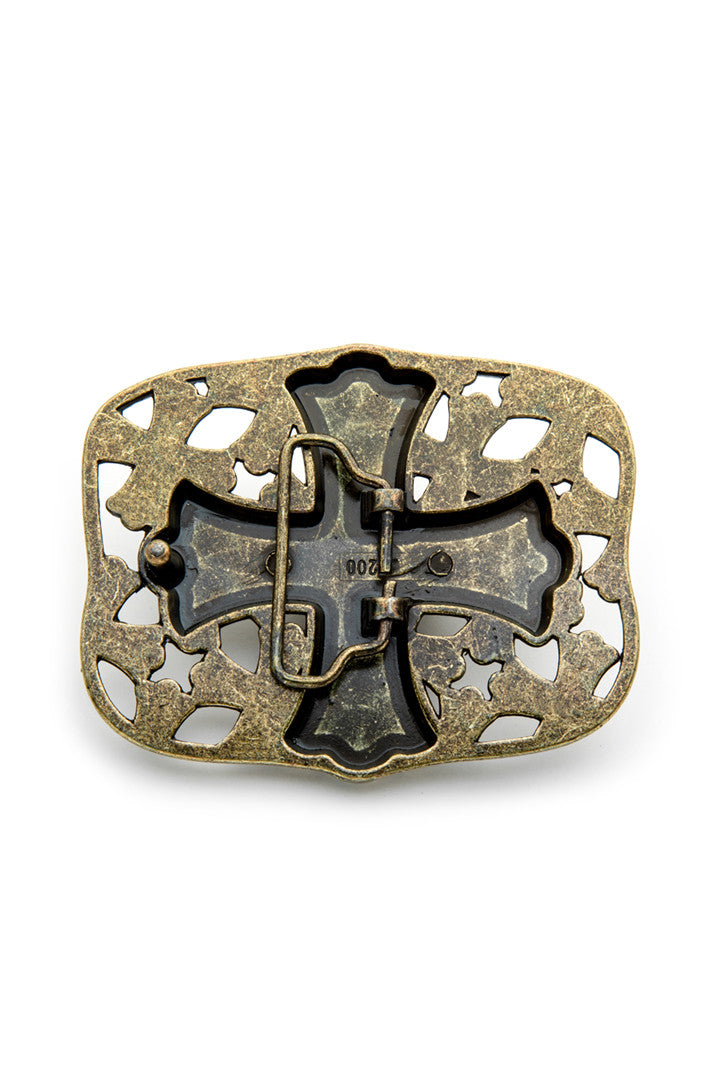 - Belt Buckle - Celtic Cross Belt Buckle - 2