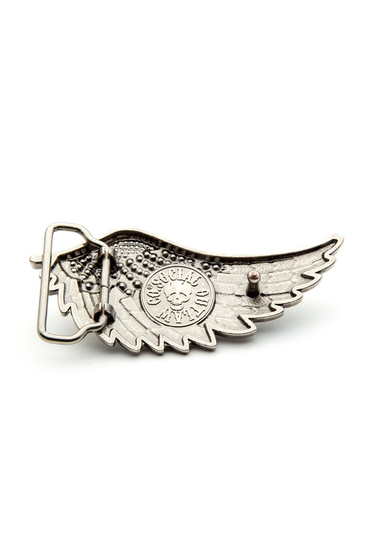 - Belt Buckle - Angel Wing Belt Buckle - 2