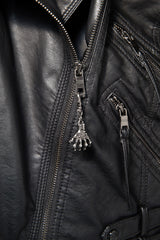 - Jacket Zipper Pull - Skeletal Hand Zipper Pull - 2
