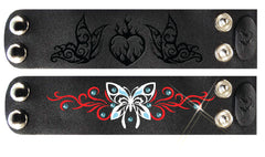 Combo Pack #1 - HG Set Embossed Heart & Tribal Butterfly