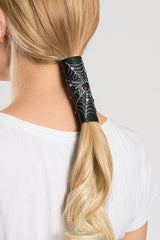 Spider Web & Rhinestones Hair Glove®