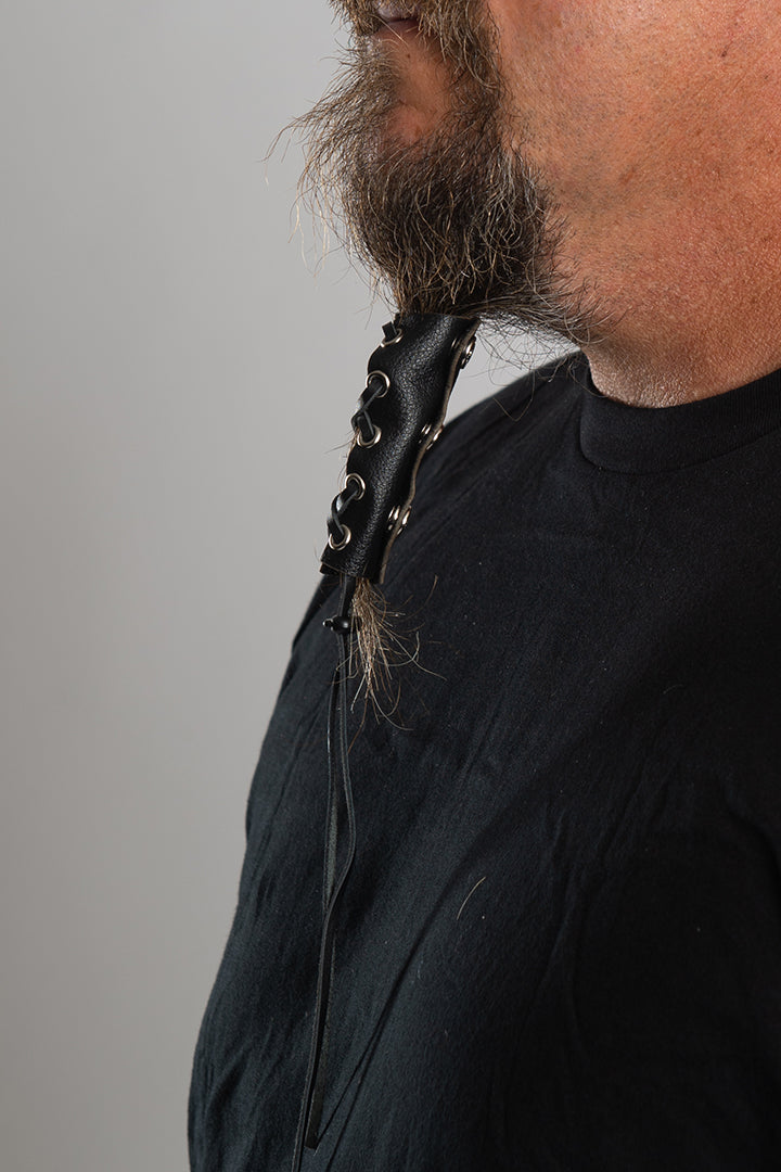 Lace Up Beard Glove
