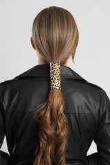 Leather Leopard Print Hair Glove®