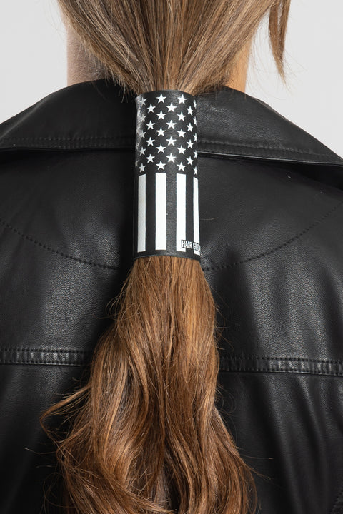 B&W American Flag Hair Glove®