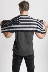 "B.W. American Flag Cooling Towel-(40""x12"")"