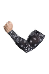 Black Paisley Arm Sleevz Soaker