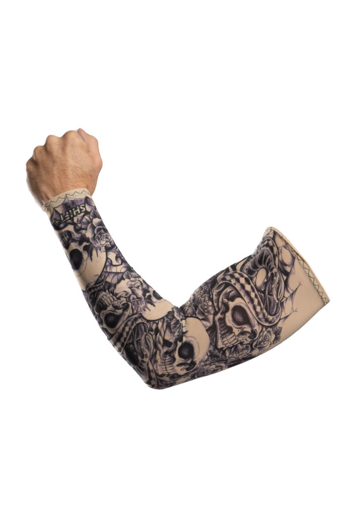 Skull Tattoo Arm Sleevz Soaker