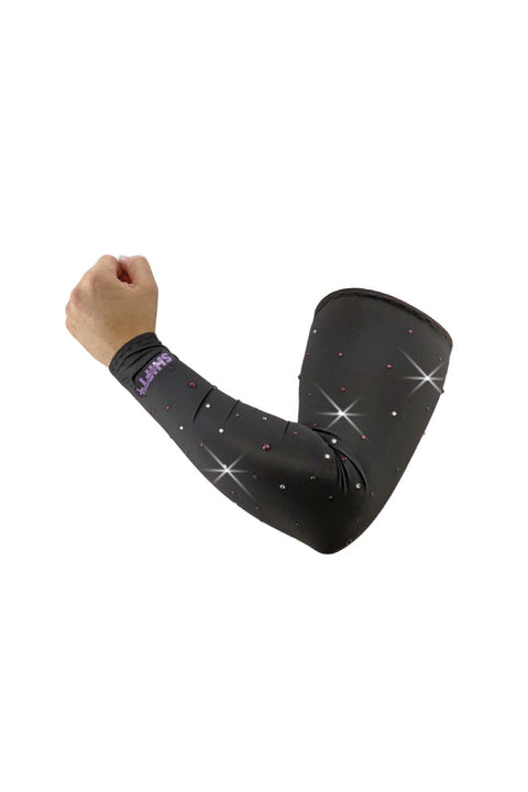 Bling Purple Starry Night Arm Sleevz Soaker