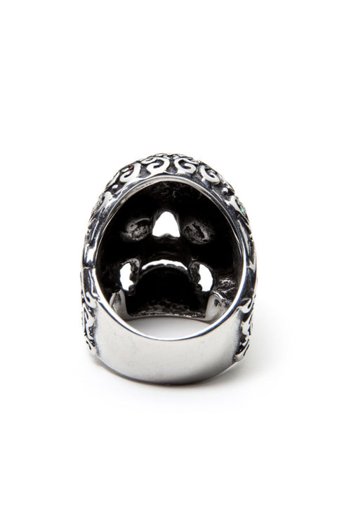 - Stainless Steel Ring - Sugar Skull Ring - 5