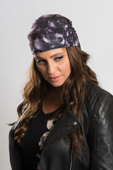Graveyard Skulls Full-Head Wrap