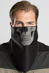 Human Skull (Light Reflective) Triangle Mask