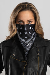 Black Bandana Triangle Mask