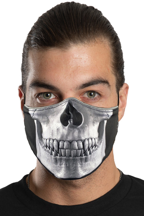 Skull Jaw Face Mask Set