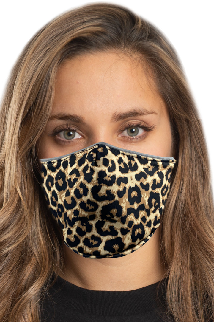 Leopard Print Face Mask Set