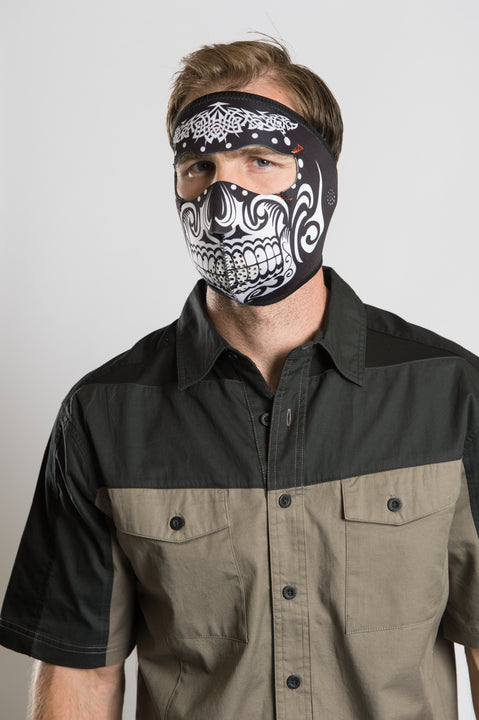 Tribal Fight Full Face Mask