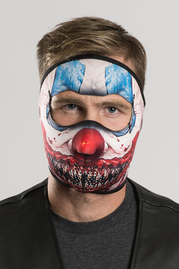 Clown Nightmare Full Face Mask