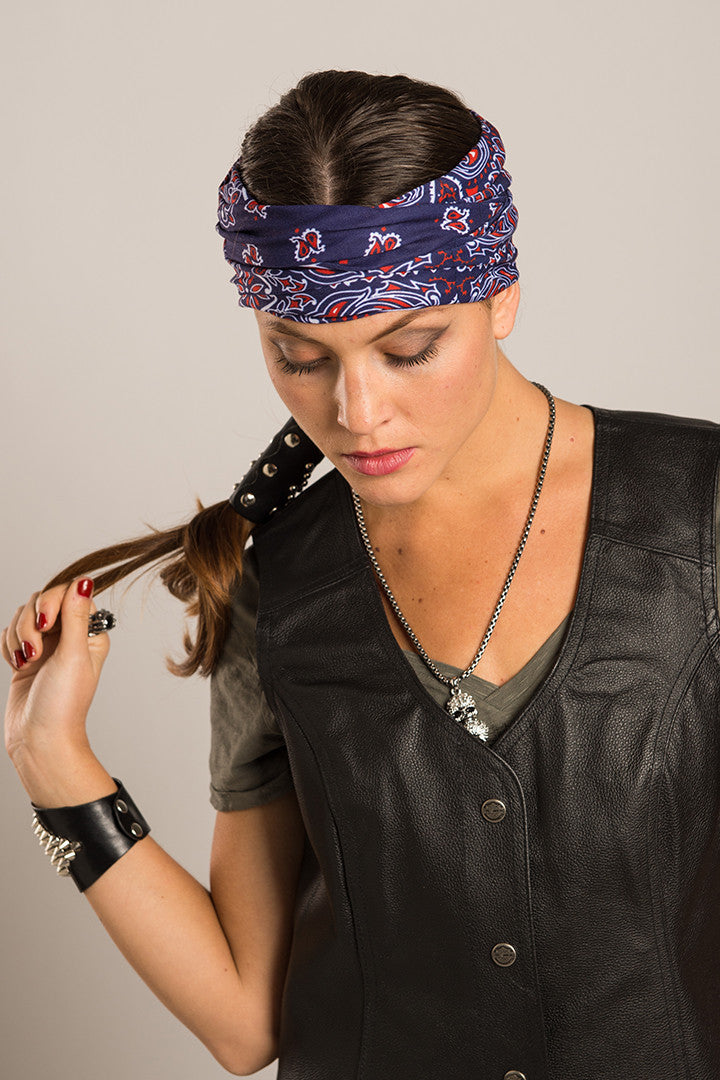 - Multi-Functional Headwear - Traditional Bandana EZ Tube - 2