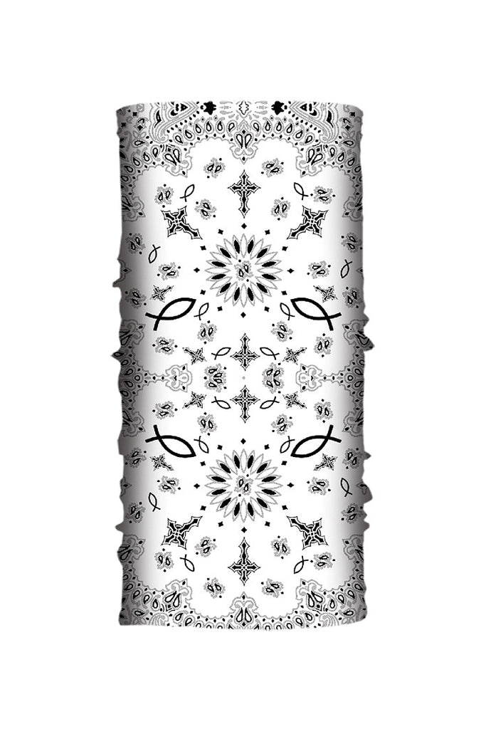 White Paisley Faith EZ Tube