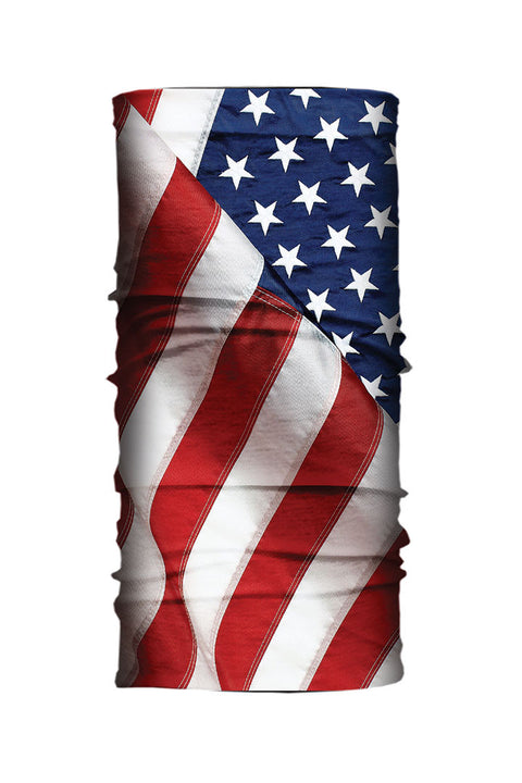 USA Flag Tube Light Weight EZ Tube