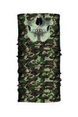 Camo Skull Jaw Light Weight EZ Tube