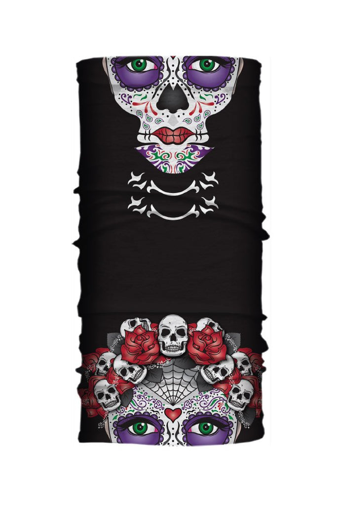 Day of the Dead Girl Light Weight EZ Tube