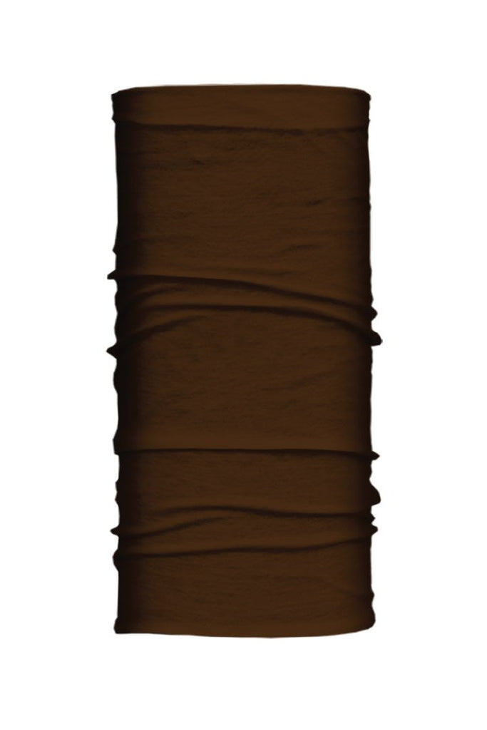 Solid Brown Winter Weight EZ Tube