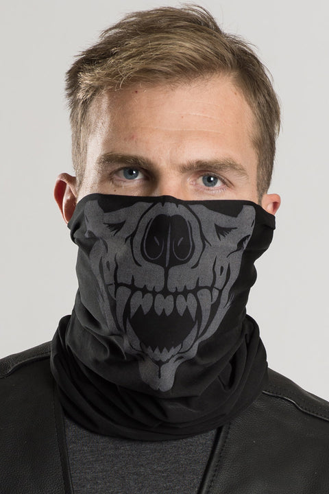 Animal Skull (Reflective Ink) Winter Weight EZ Tube