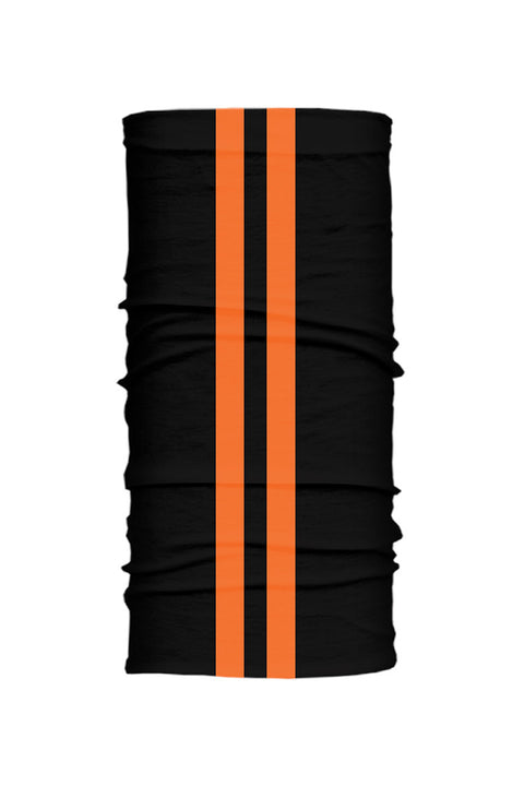 - Multi-Functional Headwear - Orange Stripes Wind-Resistant Tube