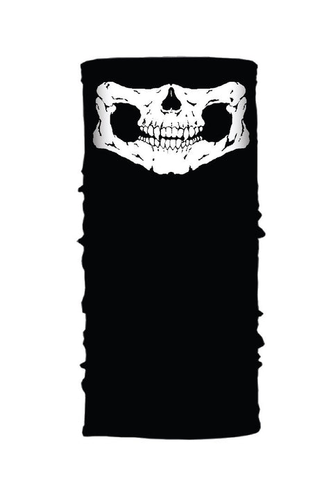 Defleshed Skull (Glow In Dark) Winter Weight EZ Tube