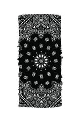 Black Paisley Winter Weight EZ Tube