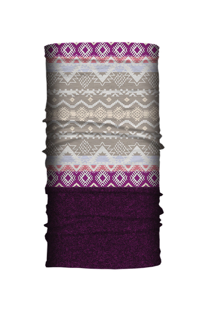 Ethnic Dream Fleece-Neck Tube