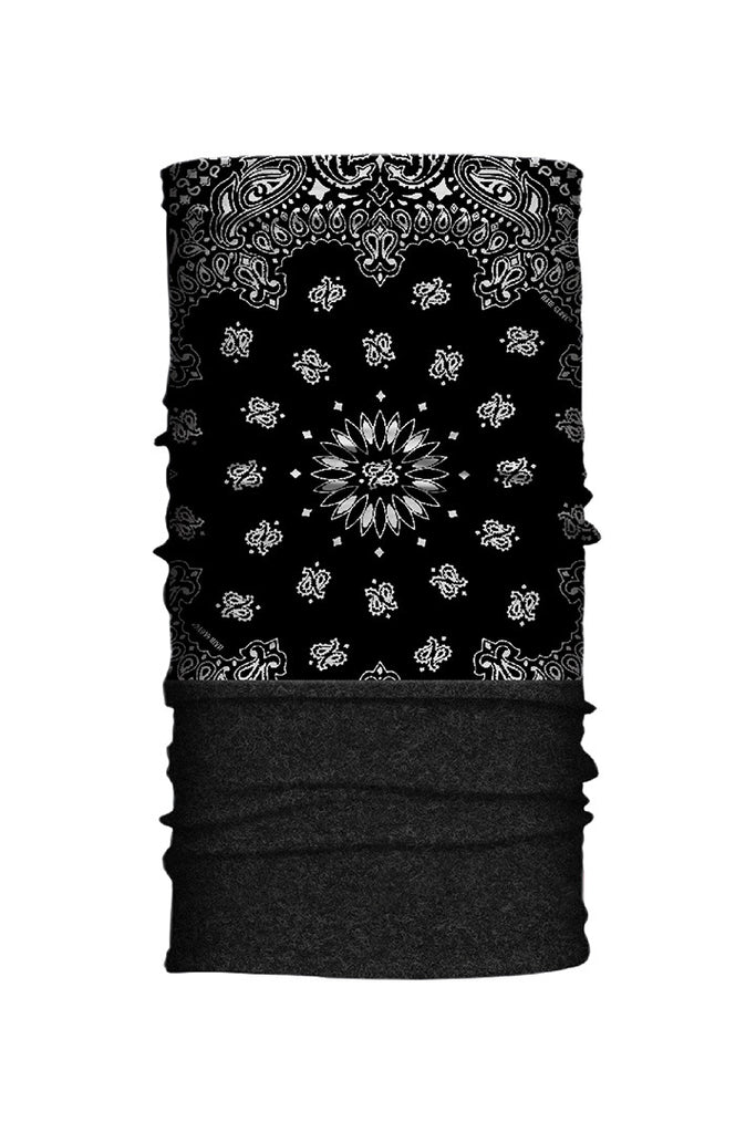 Traditional Paisley Fleece-Neck Tube