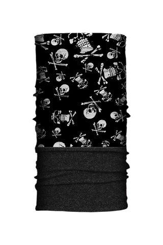- Multi-Functional Headwear - All Over Skull Fleece-Neck Tube