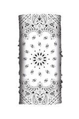 White Paisley Soaker Series EZ Tube